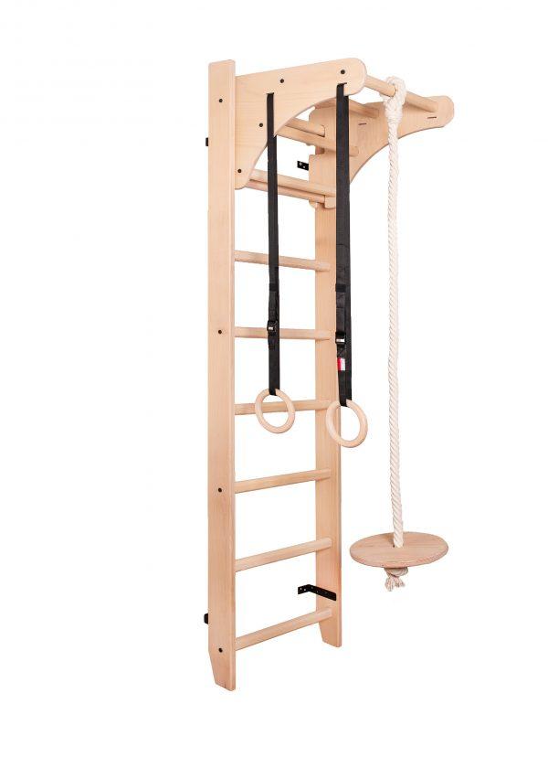 Drewniana drabinka gimnastyczna BenchK 112