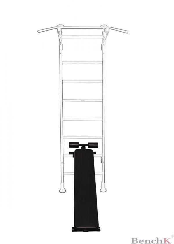 ławeczka do ćwiczeń do drabinki-gimnastycznej BenchK 510