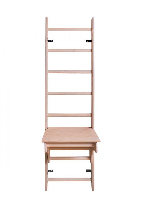 Drewniana drabinka gimnastyczna BenchK 111 z biurkiem