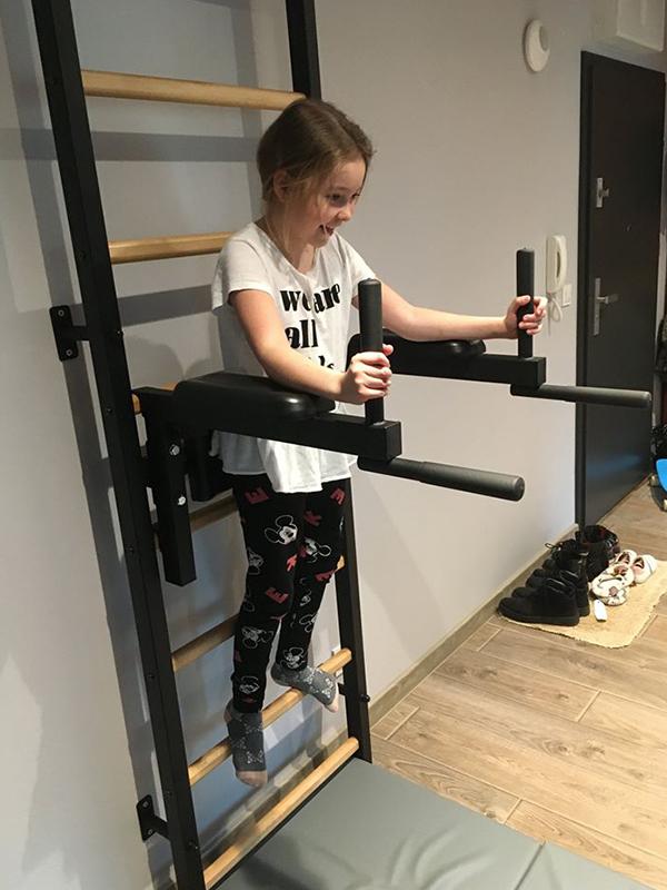drabinka gimnastyczna dla rodziny