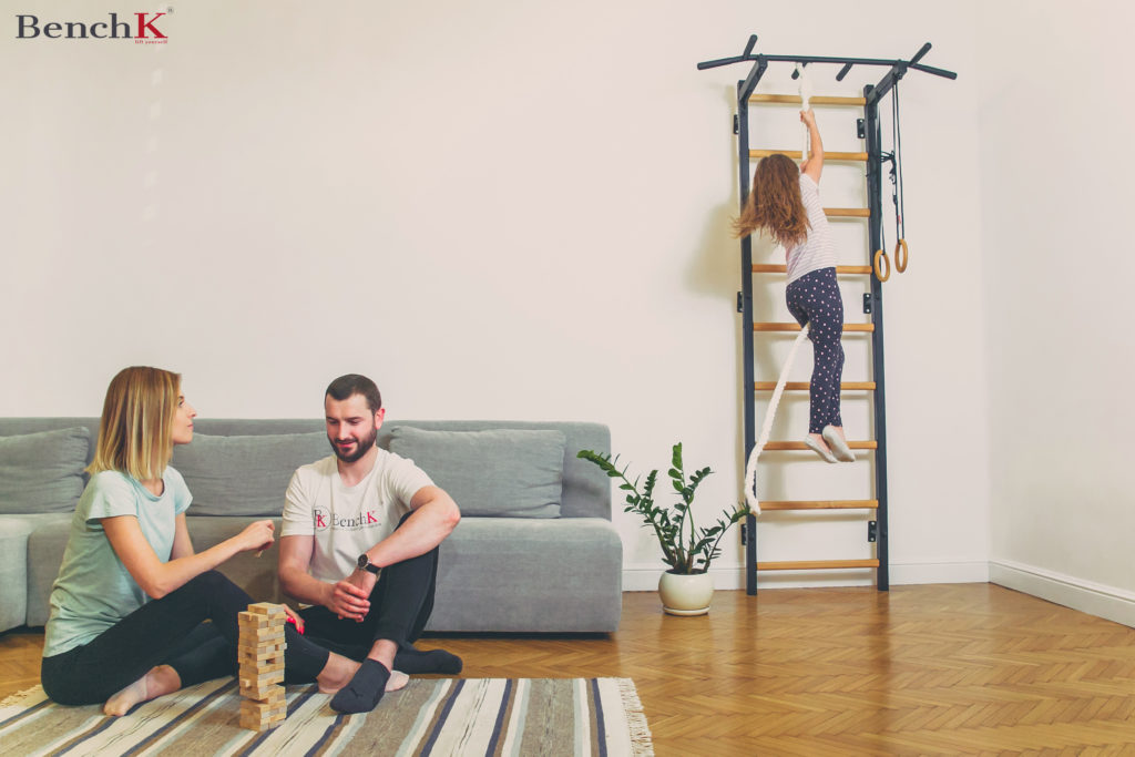 Koordinations - Sprossenwand zu Hause