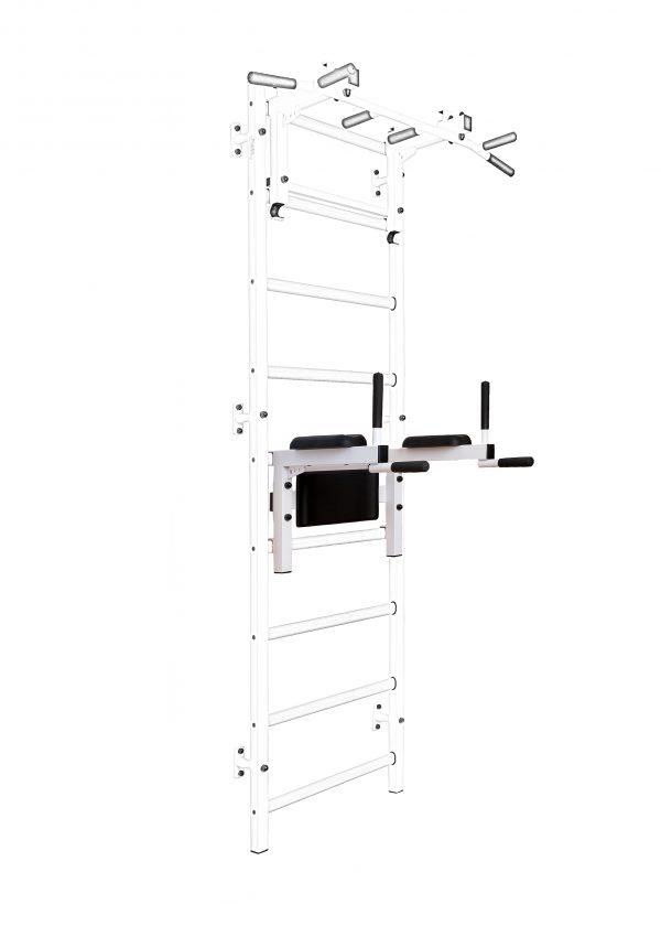 BenchK DB310W/710W white Dip bar