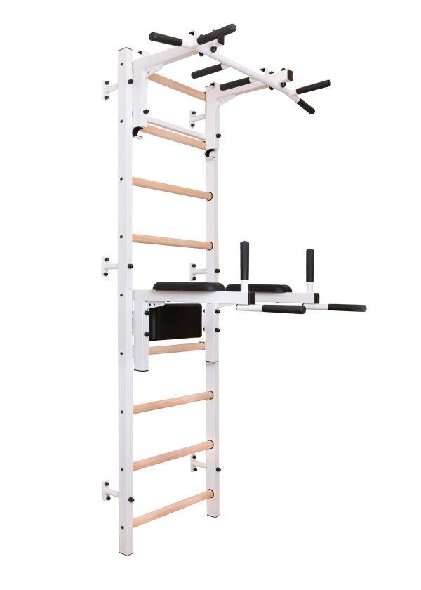 Biała drabinka gimnastyczna BenchK 712W